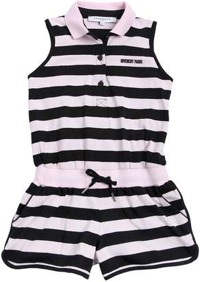 Givenchy Striped Cotton Jersey Romper