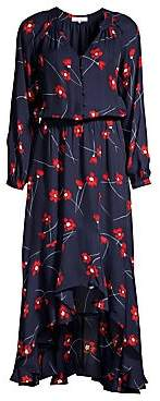 Parker Women's Verity Silk Blend High-Low Shirtdress