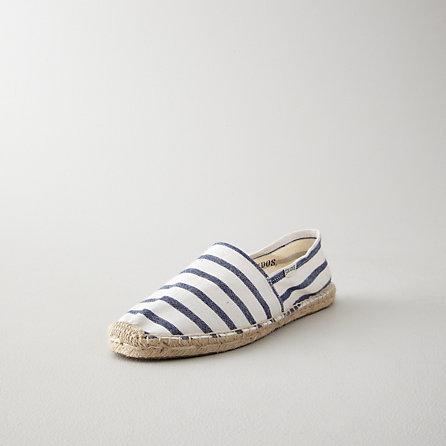 Soludos womens classic stripe espadrille slip on