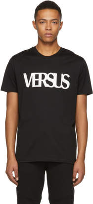 Versus Black Logo T-Shirt