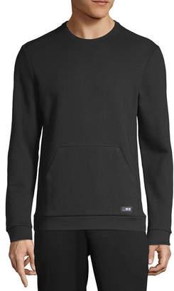 MSX BY MICHAEL STRAHAN Msx By Michael Strahan Mens Crew Neck Long Sleeve Sweatshirt