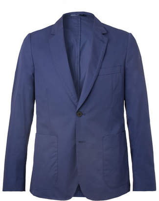 Paul Smith Royal-Blue Soho Slim-Fit Cotton Suit Jacket