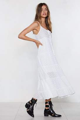 Nasty Gal Threads or Tails Broderie Dress