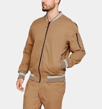 Under Armour Men's UA Sportswear Twill Bomber Jacket
