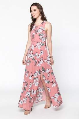 Everly Blushing Coral Maxi