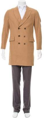 Paul Smith Double-Breasted Camel Overcoat