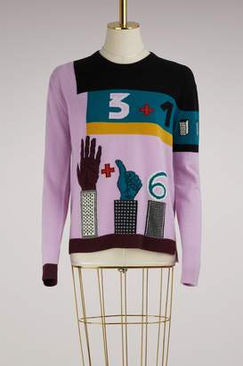 Valentino Counting 6 knitwear