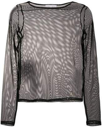 Patrizia Pepe transparent top