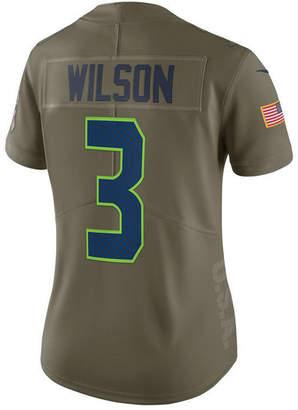 Nike Women's Russell Wilson Seattle Seahawks Salute To Service Jersey