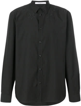 Givenchy star-embroidered shirt