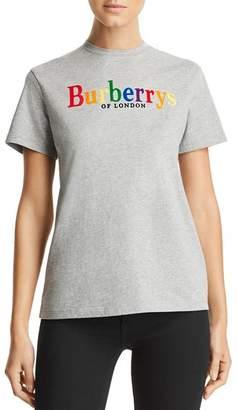 Burberry Clumber Logo Tee