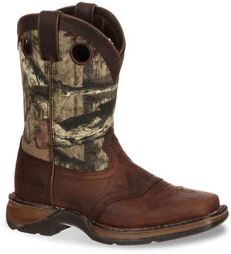 Durango Camo Saddle Toddler & Youth Cowboy Boot - Boy's