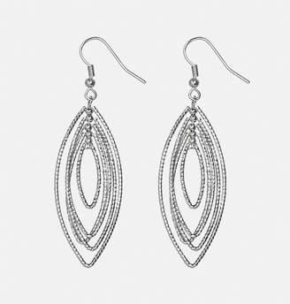Avenue Layered Textured Teardrop Earrings