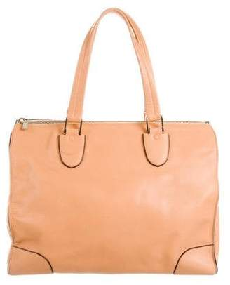 Valextra Leather Babila Bag