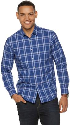Apt. 9 Men's Slim-Fit Stretch No-Iron Button-Down Shirt