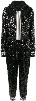 Dolce & Gabbana sequin jumpsuit