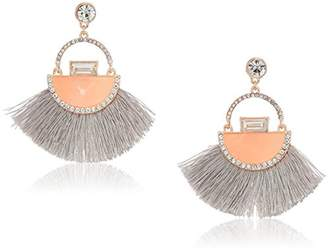 GUESS Love Struck Women's Post Fringe Drop Earrings