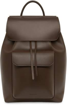 Mansur Gavriel Calf Technical Backpack - Chocolate