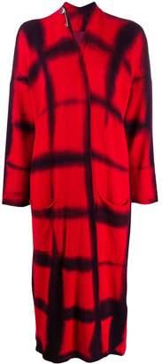 Masnada knitted tie-dye cardi-coat