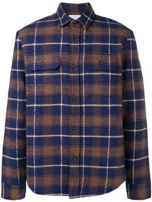 John Elliott checked classic shirt