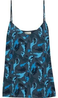 L'Agence Jane Printed Silk Top