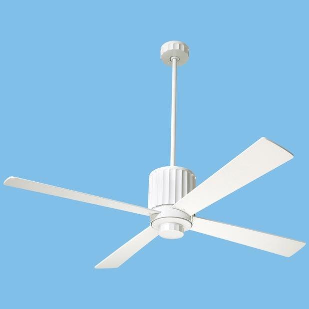 Modern Fan Flute White Fan