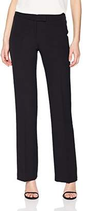 Anne Klein Women's Crepe Flare Leg Pant