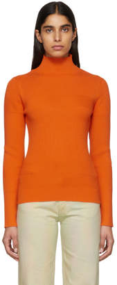 Etudes Orange Sister Turtleneck