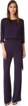 Diane von Furstenberg Gwynne Jumpsuit $498 thestylecure.com