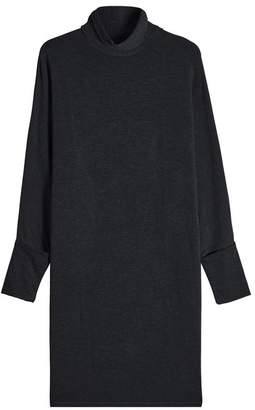 Majestic Jersey Turtleneck Dress