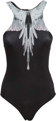 Marcelo Burlon County of Milan Feather Print Swimsuit