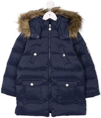Mikihouse Miki House zipped padded coat