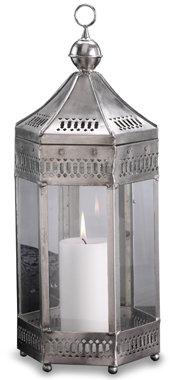 Modern Morocco Metal Lantern - Large