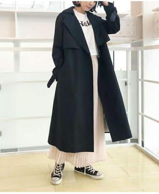 aquagirl (アクアガール) - aquagirl 裏ストライプトレンチコート アクアガール コート/ジャケット
