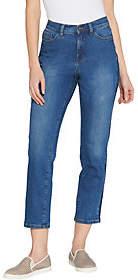 Denim & Co. Studio by Regular Classic DenimStripe Jeans