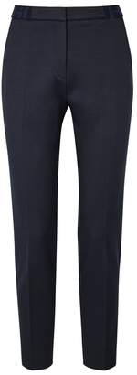 HUGO Hefena Textured Cotton-blend Trousers
