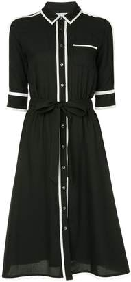 GUILD PRIME flared shirt dress