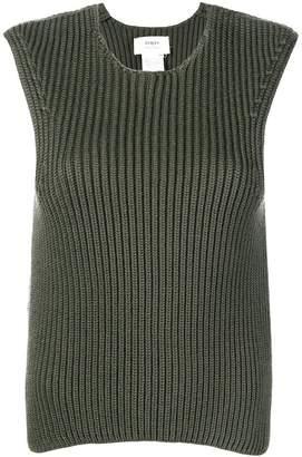 Ports 1961 sleeveless ribbed jumper