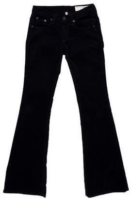 Rag & Bone Corduroy Low-Rise Skinny Pants
