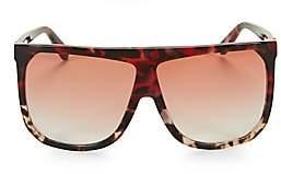 Loewe Women's LW40001I 63MM Square Aviator Sunglasses