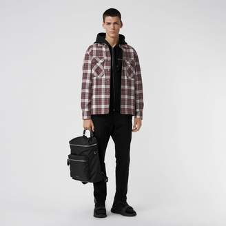Burberry Quilted Check Flannel Shirt