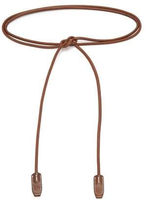 Acne Studios Rope Leather Belt - Womens - Dark Brown