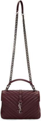 Saint Laurent Red Medium College Bag