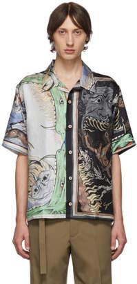 Givenchy Multicolor Silk Icarus Hawaiian Shirt