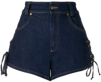 Roberto Cavalli short denim shorts