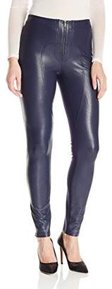 BCBGMAXAZRIA Women's Sayer Faux Leather Moto Legging
