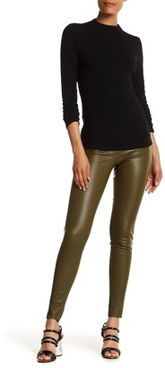 alice + olivia Front Zip Genuine Leather Legging $798 thestylecure.com