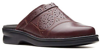 Clarks Patty Leather Clogs