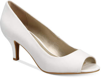 Karen Scott Mory Peep-Toe Pumps, Only at Macy's $49.50 thestylecure.com