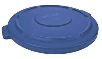 Rubbermaid Round Blue Trash Can, FG263100BLUE